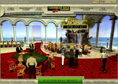 the Caribbean Gold Casino