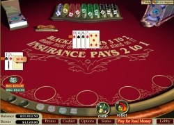 Play Blackjack at English Harbour