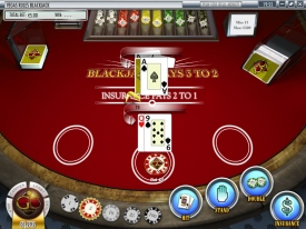 Play Blackjack at Golden Cherry Casino