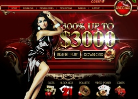 Play casino games at Golden Cherry
