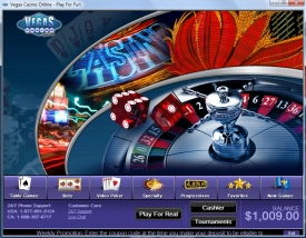 Play games at Vegas Casino Online